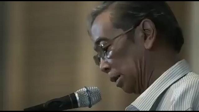 Iman Budi Santosa, penyair.